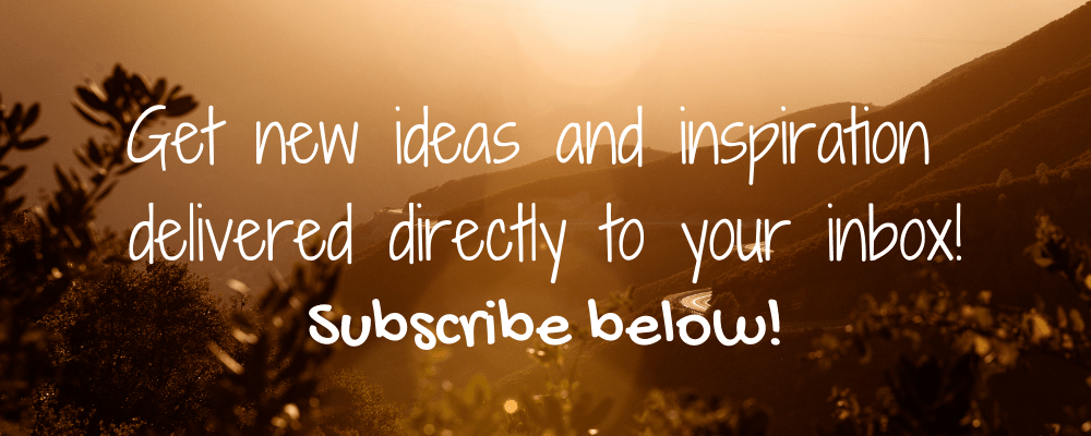 Get new ideas and inspiration delivered to your inbox! Subscribe below.