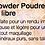 Thumbnail: Loose Powder Poudre Minérale