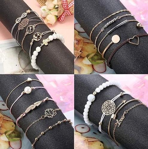 Bracelets & Boucles d'Oreilles