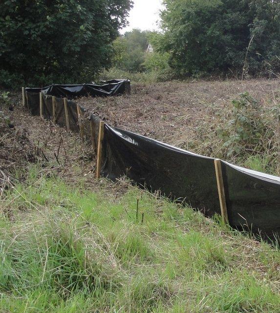 Reptile exclusion fencing