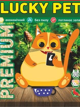 Lucky Pet Premium 3кг древесный наполнитель премиум-качества