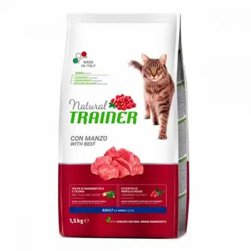 Trainer NATURAL Adult Корм для взрослых кошек с говядиной
