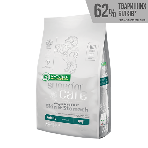 Superior Care Sensitive Skin&Stomach Adult All Breeds