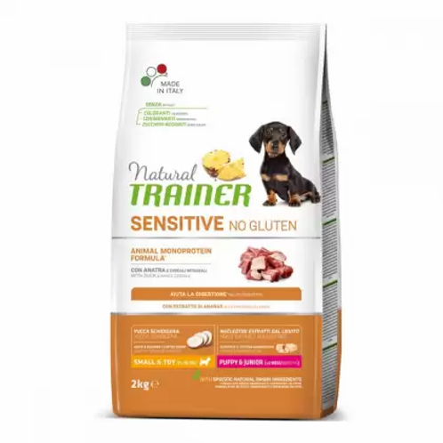 Trainer Natural Sensitive Puppy & Junior Small & Toy Duck