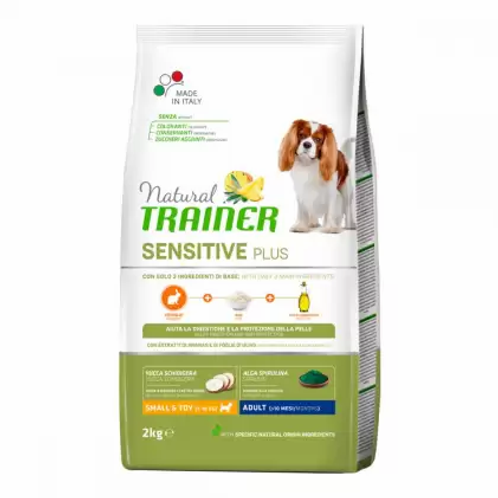 Trainer Natural Sensitive Plus Adult Small & Toy Rabbit