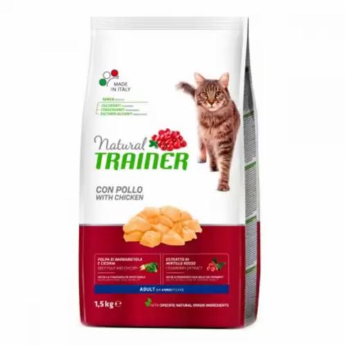 Trainer NATURAL Adult Корм для взрослых кошек с курицей