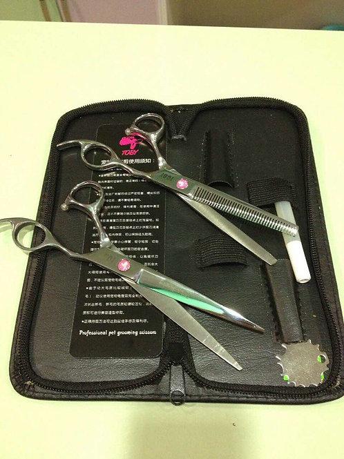 Набор ножниц для груминга №3 TOBY