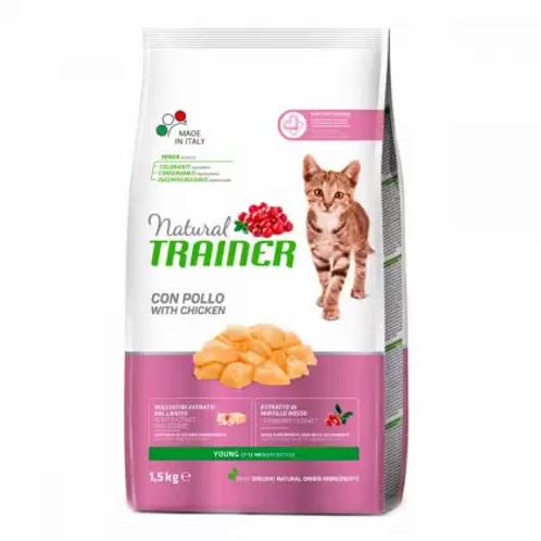 Trainer NATURAL Young Cat Корм для котят (от 7 до 12 месяцев)
