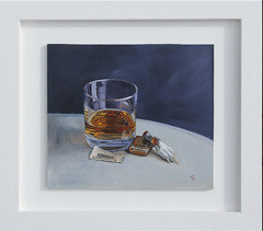 Still life paintings from the Orient Express journey collection