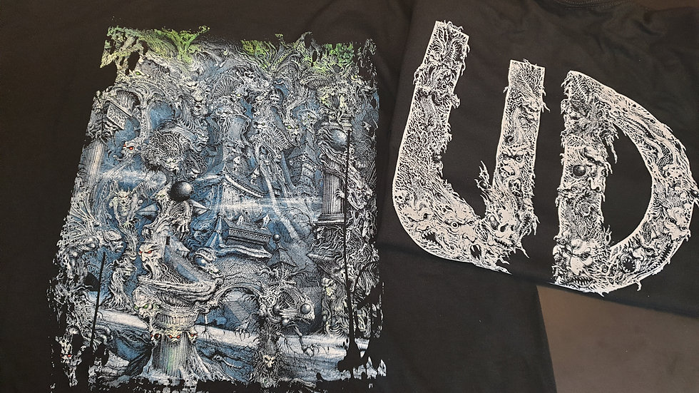 Below World T-Shirt - Art by Ian Miller