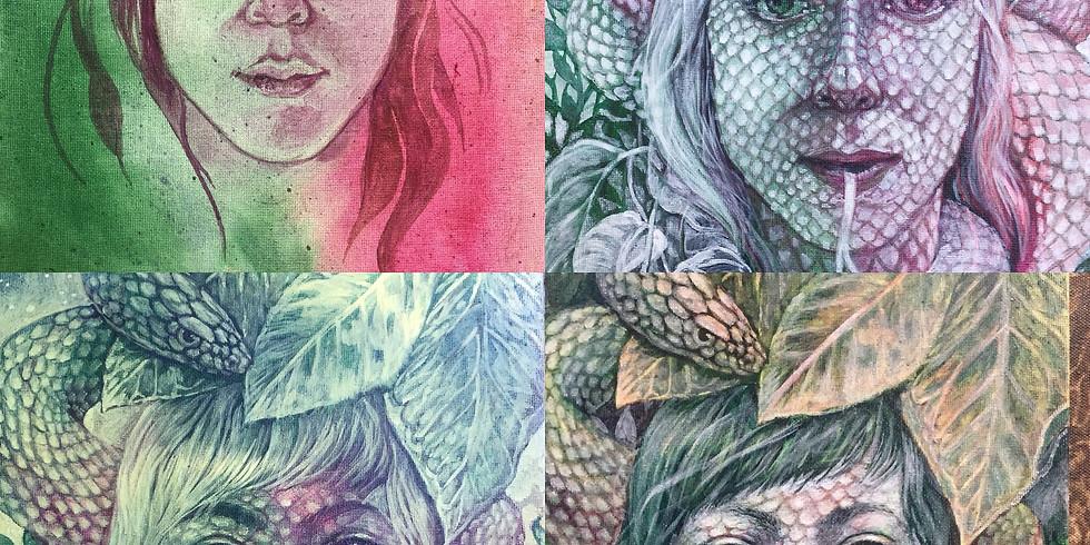 Create Yourself!: Self-Portrait Workshop with ila rose