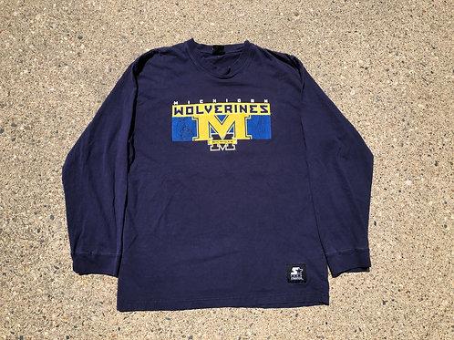 Script and Logo Long Sleeve Shirt