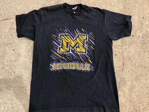 Gold and Purple Graphic Shirt