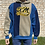 Thumbnail: Color Block, Embroidered Logo Hoodie