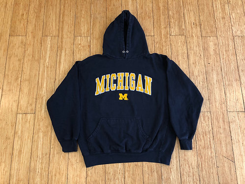 Michigan Embroidered Hoodie