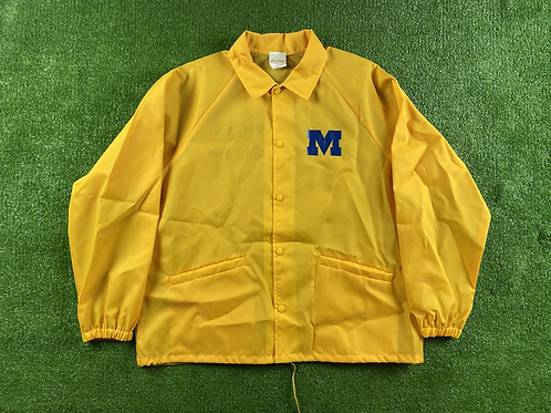 "Thin, Button Up ""Team Michigan"" Jacket"