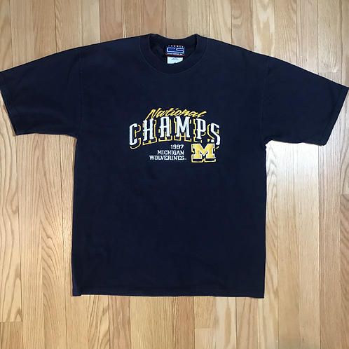 '97 Championship Embroidered T-Shirt