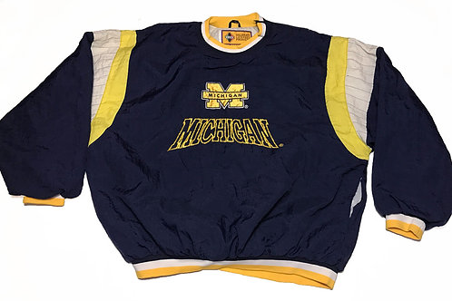 Michigan Wolverines Vintage Windbreaker