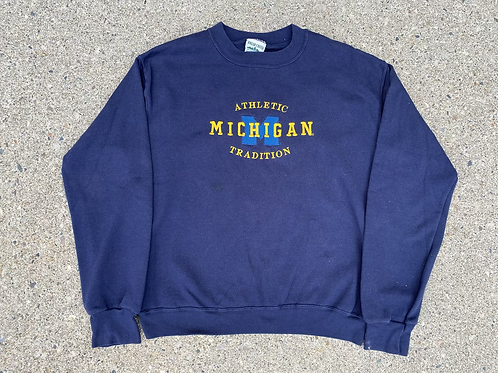 """""""Athletic Tradition"""", Embroidered Crewneck"""
