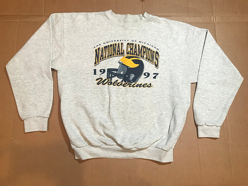 '97 National Championship Script with Graphic