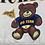 Thumbnail: Full Script and Teddy Bear Graphic Crewneck