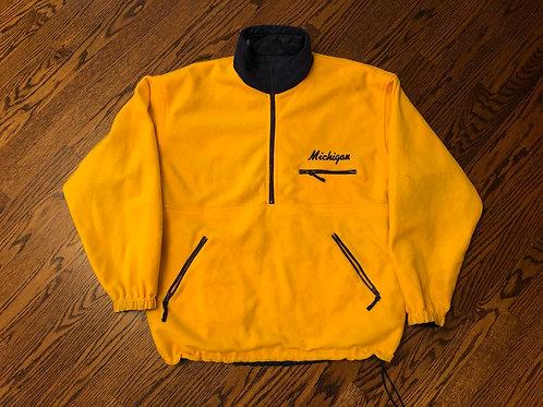 Reversible Half-Zip Fleece