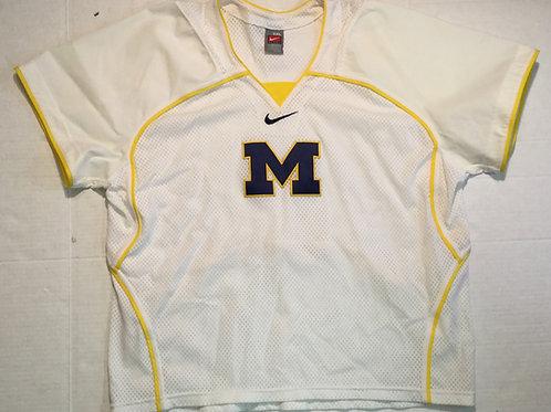 Authentic Michigan Nike Lacrosse Jersey
