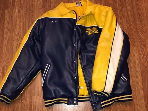 Michigan Nike Bomber Jacket