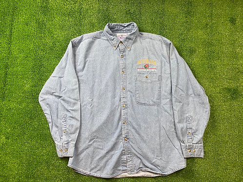 Rose Bowl Denim Button Down