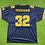 Thumbnail: #32 Embroidered Football Jersey
