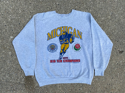1991 Big Ten Champions Crewneck