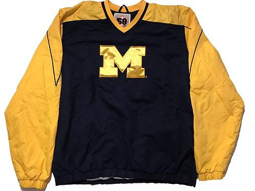Michigan 58 Sports Windbreaker