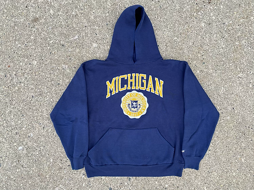 Script and Crest Hoodie