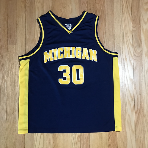 Michigan Basketball Jersey #30