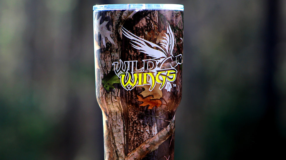 RTIC Camo Cup - Yellow Decal