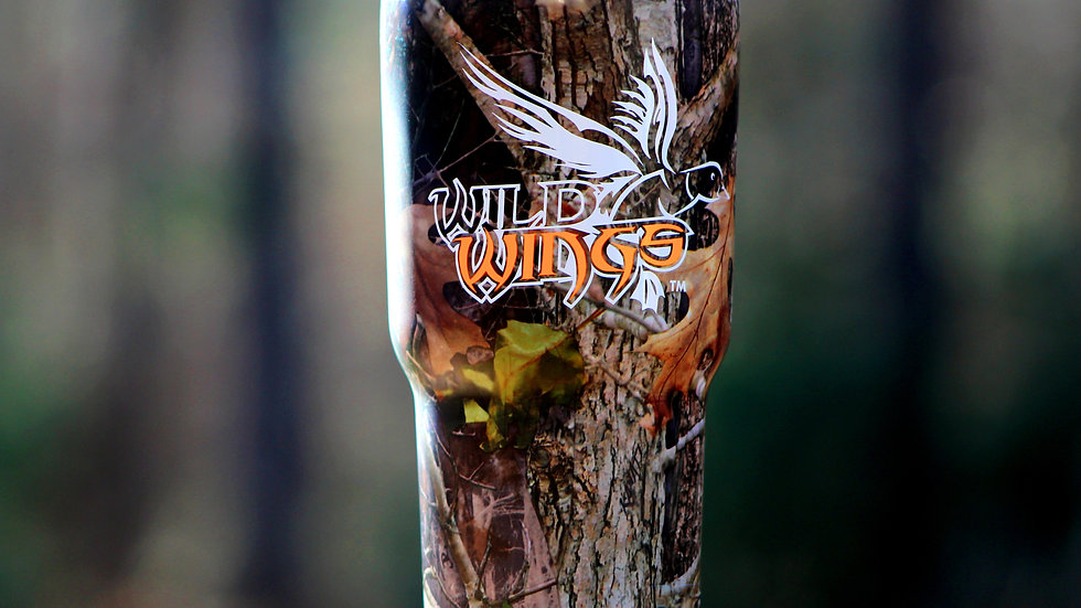 RTIC Camo Cup - Orange Decal