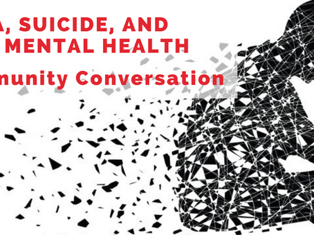 Resource List: Stigma, Suicide, and Solutions to Our Youth Mental Health Crisis