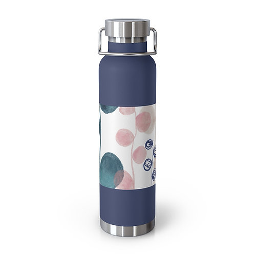 Doodles 3 - Angie Fraley. 22oz Vacuum Insulated Bottle