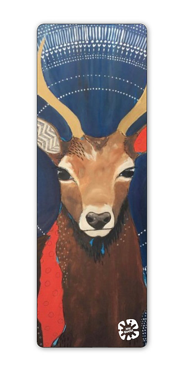"""""""Noble Stag""""  by Emily Reid Exercise Yoga Mat"""