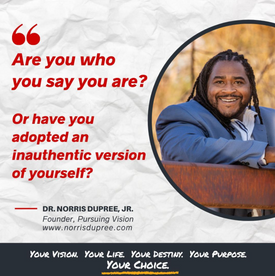 Dr. Norris Dupree Take Your Life Back Book announcement.