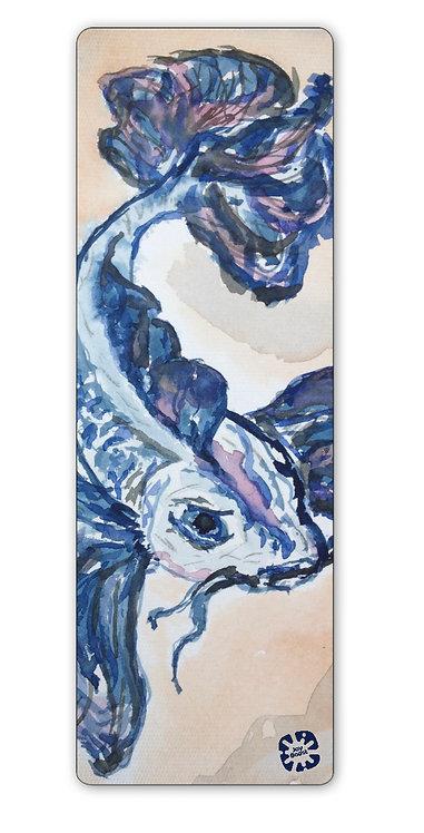"""Catfish"" by Kim Lundeen Exercise Yoga Mat"