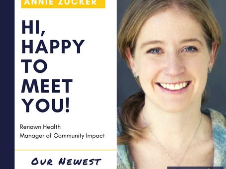 Welcome Annie Zucker!