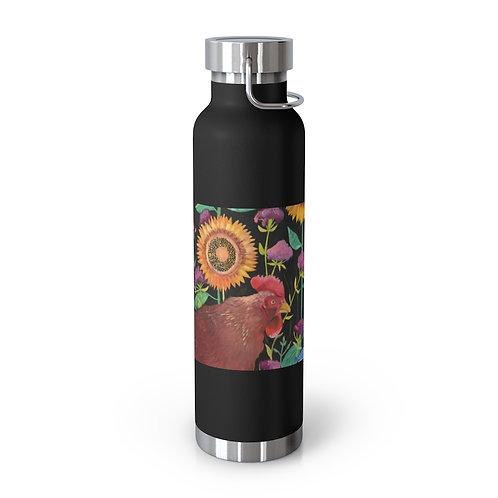 In My Garden - Emily Reid. 22oz Vacuum Insulated Bottle