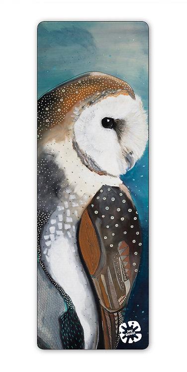 """Wise Owl""  by Emily Reid Exercise Yoga Mat"