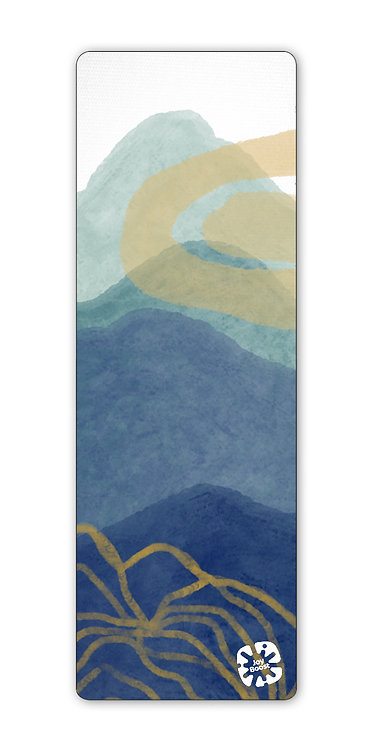 """""""Glow"""" by Angie Fraley Exercise Yoga Mat"""