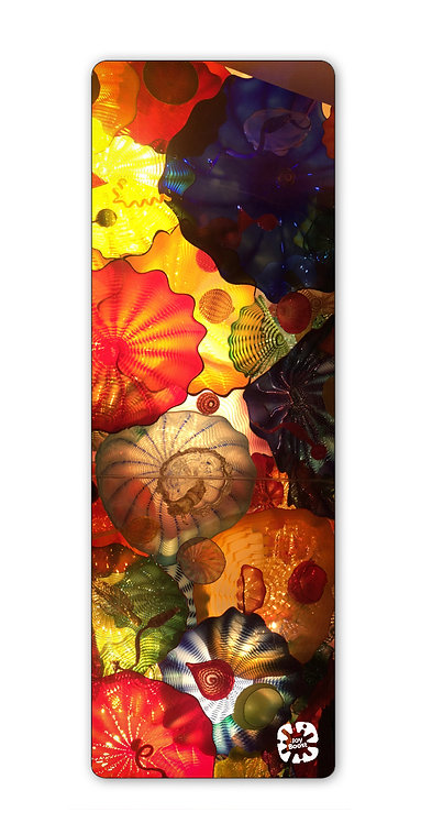 """""""Glass Ceiling"""" by Kim Lundeen Exercise Yoga Mat"""