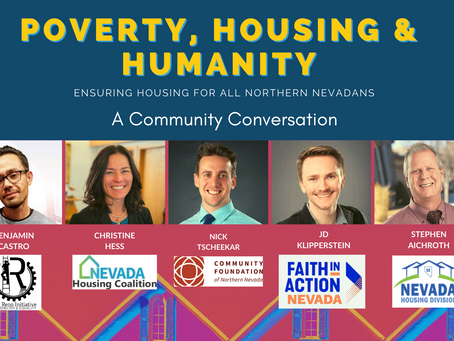 TOMORROW, JUNE 30  Join Us for a Discussion about Poverty, Housing & Humanity