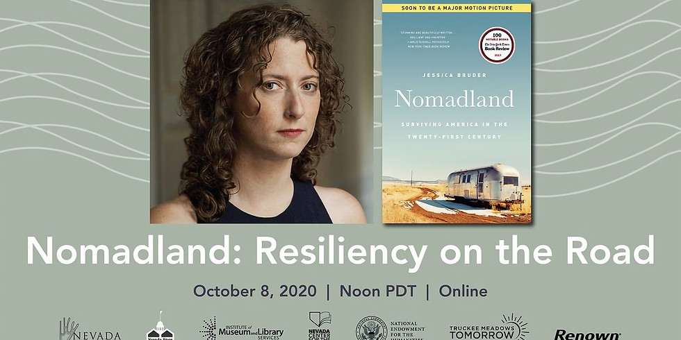 Nomadland: Resiliency on the Road A Conversation with Author Jessica Bruder and Economist Todd Sorenson