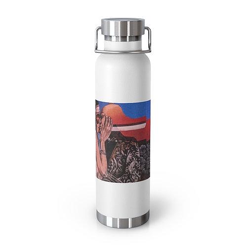 Day Dream - Joe C. Rock. 22oz Vacuum Insulated Bottle