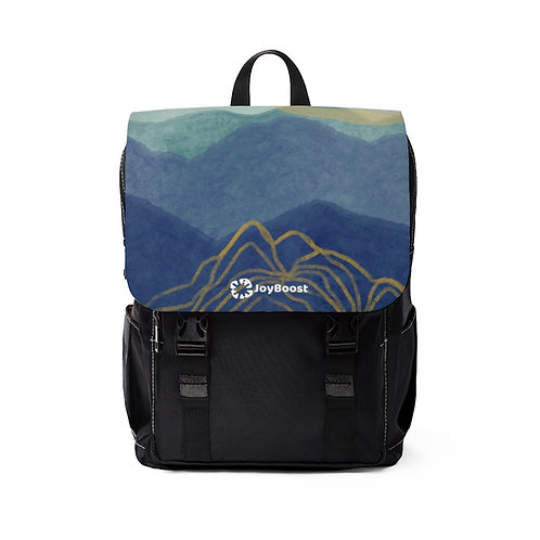 """""""Glow"""" by Angie Fraley  Unisex Casual Shoulder Backpack"""